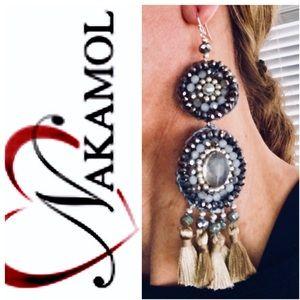 Nakamol Tassel Earrings